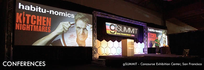 Conferences : gSummit - Concourse Exhibition Center, San Francisco