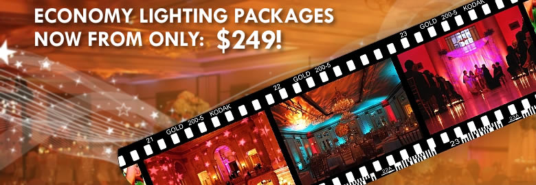 LIGHTING - ECONOMY LIGHTING PACKAGES NOW FROM OLY $249!